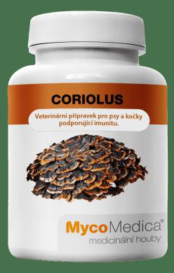Coriolus_veterinární přípravek