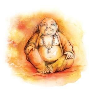 014 - Kulatý Buddha