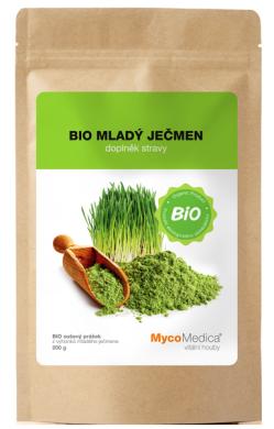 Ječmen-bio-powder
